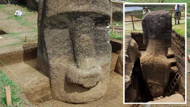The paranormalistics easter island heads have full bodies