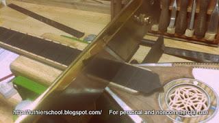 Χάραξη ταστιέρας με ταστοπρίονο