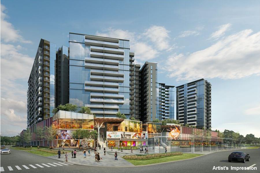 The Poiz Residences Singapore mixed Condo in Potong Pasir