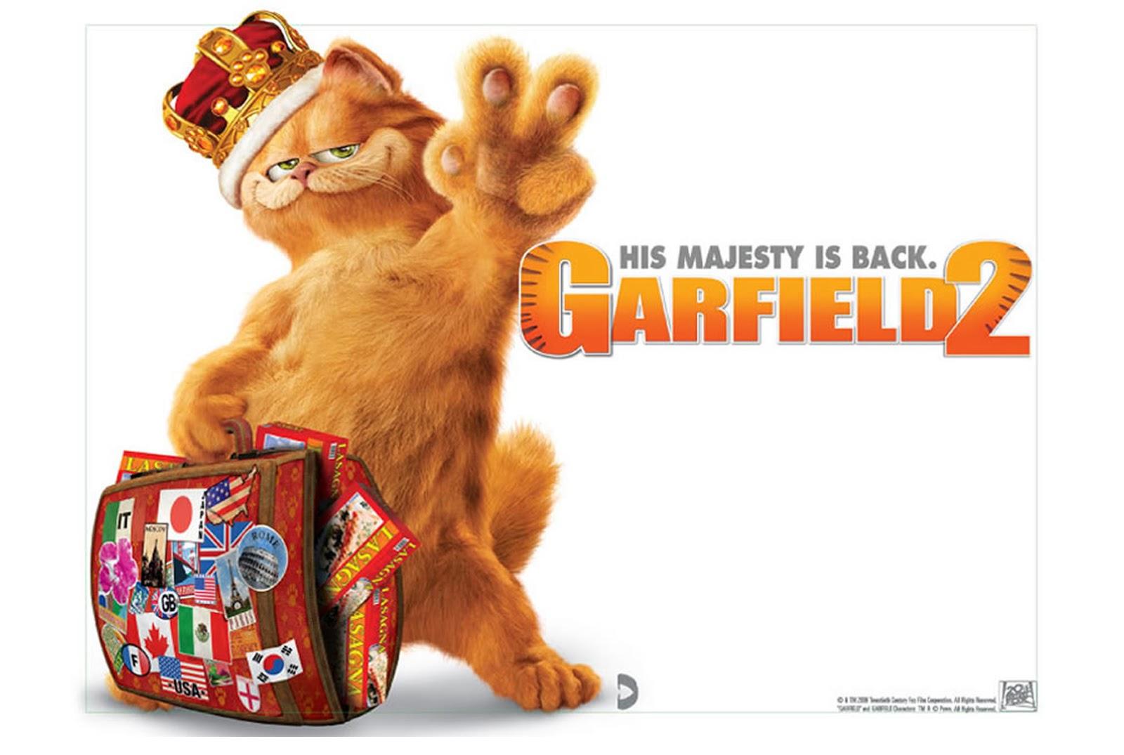 Gambar Kumpulan Gambar Kucing Garfield Menggemaskan