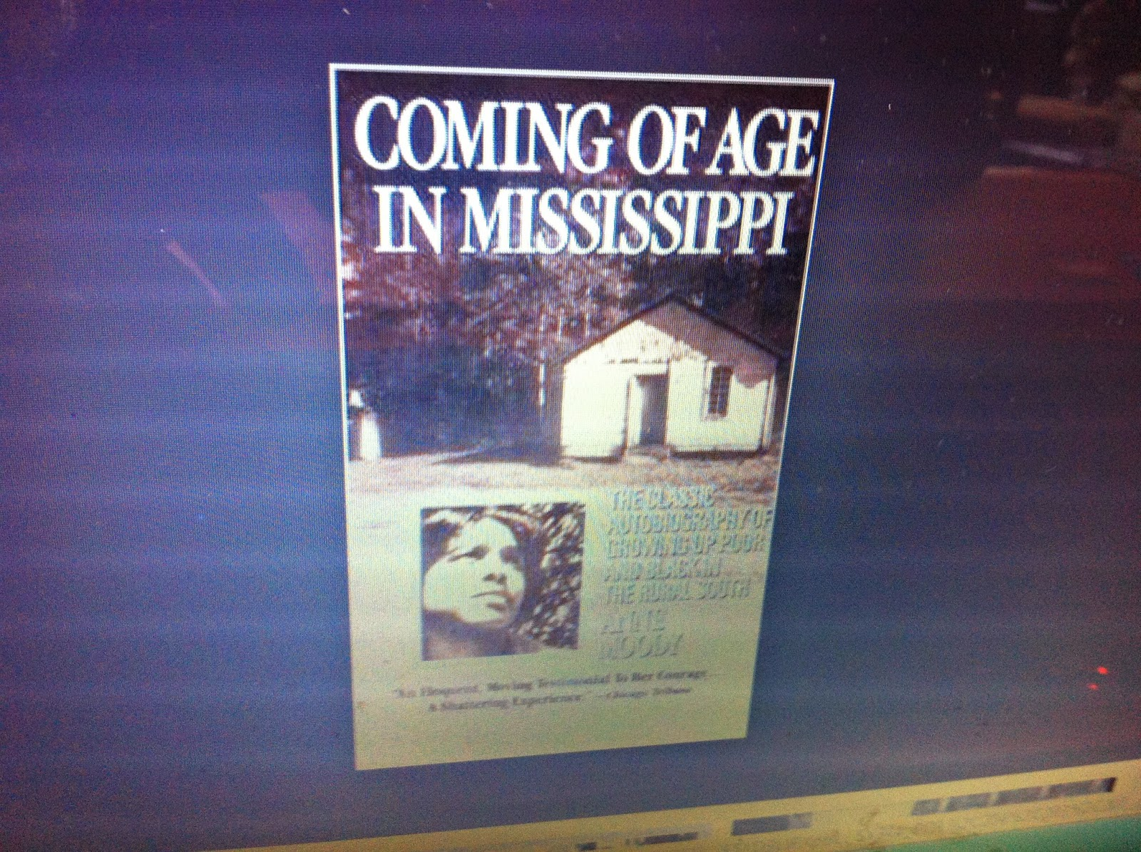 an autobiography of an african american woman in coming of age in mississippi Coming of age in mississippi  anne moody the classic autobiography of a young black  history of african american courtship and marriage google image result.