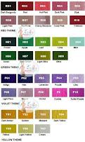 Pilihan Warna Polyester Felt