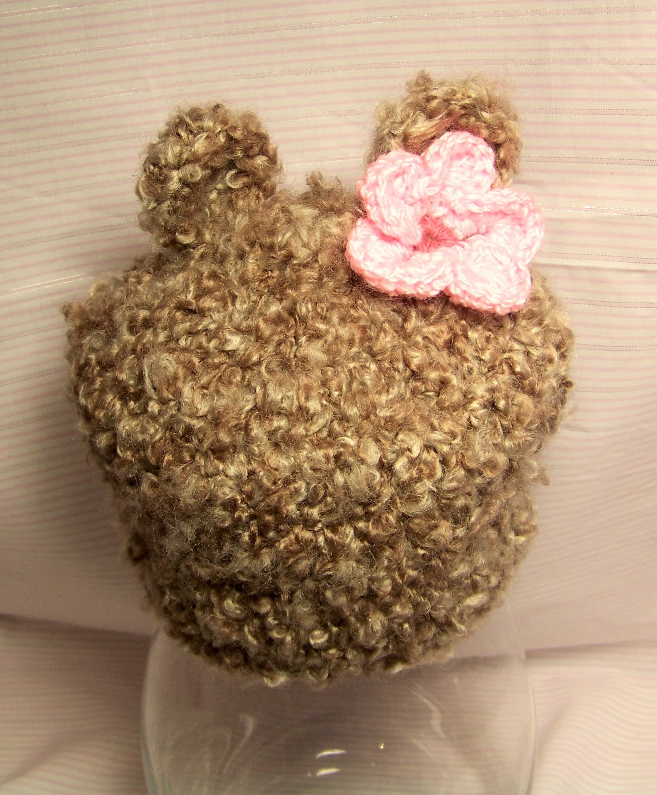 Crochet Baby Bear Beanie Pattern : Mis 2 Manos: Made by My Hands: October 2012