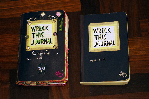 PART OF ME Wreck This Journal