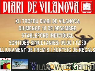 Torneig Diari Vilanova P&P Portal del Roc
