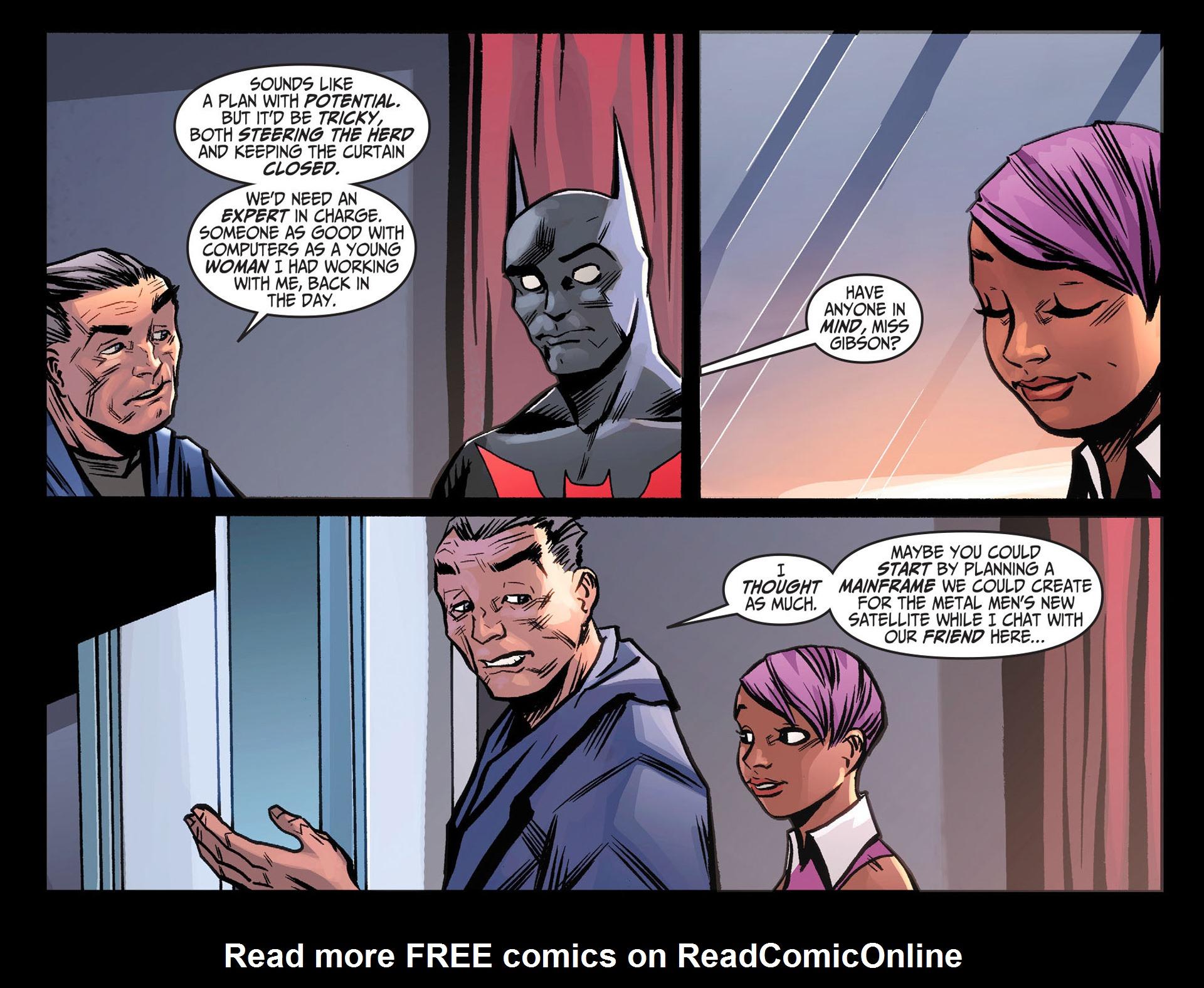Batman Beyond (2012) Issue #26 #26 - English 18