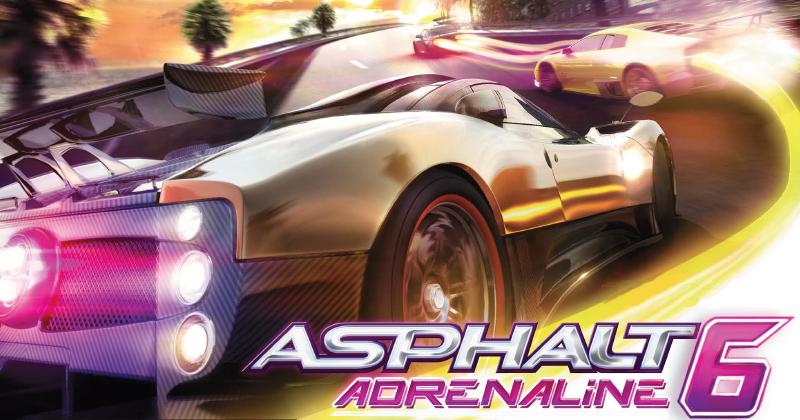 Asphalt 6: Adrenaline HD (Symbian).