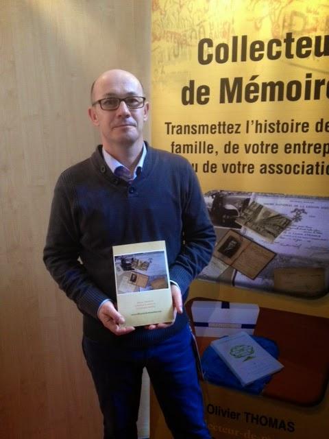 Olivier Thomas, généalogiste et archiviste du site Collecteur-de-memoire.com