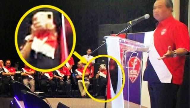 Pemimpin UMNO Bahagian didakwa rakam video ucapan Muhyiddin