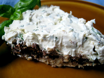 Let Her Eat Cake: Basil, Walnut & Mascarpone Cheesecake