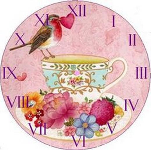 Plantillas de relojes para imprimir imagui for Reloj de pared vintage 60cm