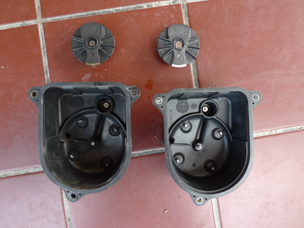Honda Civic Eg6  Distributor Cap And Rotor Swap