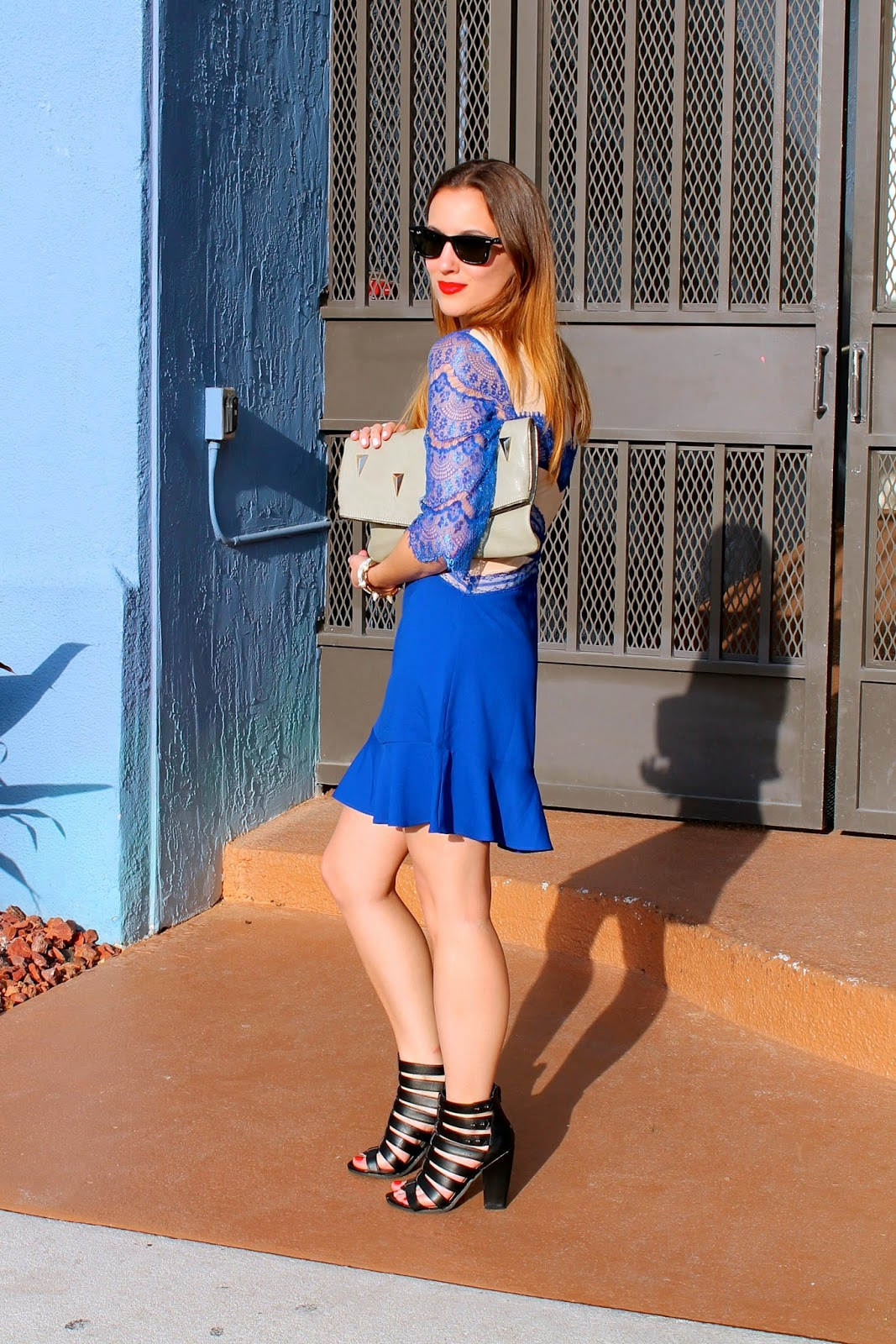 lace, Miami, fashion, style, what i wore, look book, prep, southern, edgy, Steve Madden, LF Stores, Nordstrom