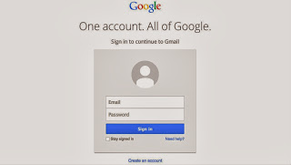 New Redesigned Gmail login, google, gmail