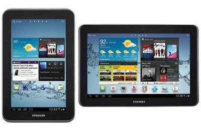 Samsung Galaxy Tab 2 7.0 and 10.1