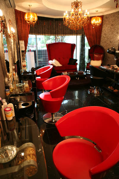 Beauty salons in uae services price lists for Beauty salon in uae