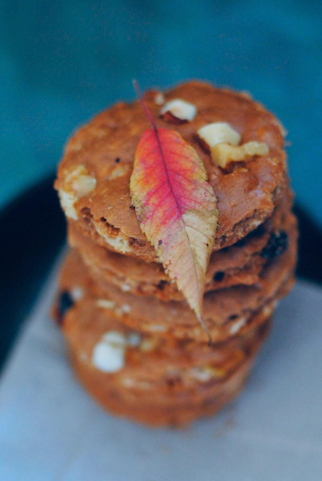 Domowe ciasteczka orzechowe