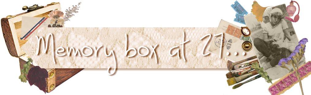 Memory Box at 27