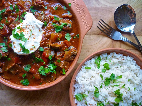 Beef and Bell Pepper Goulash Recipe