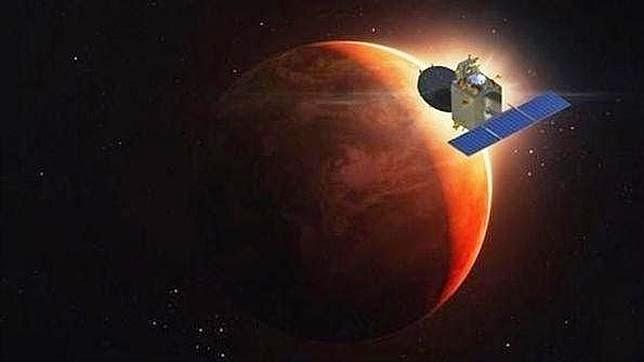 La India a punto de llegar a Marte