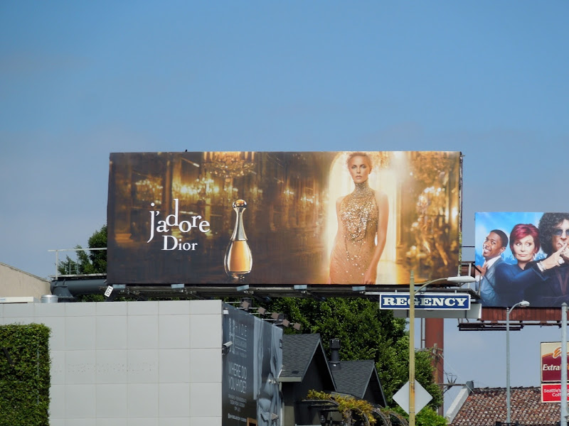 JAdore Dior perfume billboard