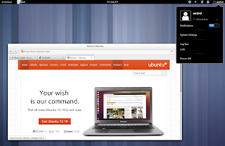 ubuntu gnome remix 12.10 screenshots