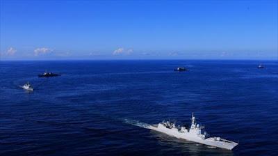 China y EEUU realizan su primera maniobra naval conjunta en el océano Atlántico