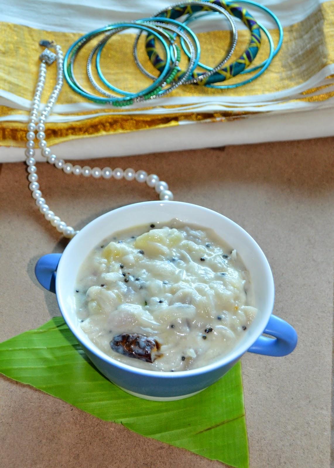 Anu\'s Kitchendelights: OIan Recipe - Easy and Quick Potato Oalan Recipe