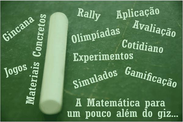 Registro de 3 anos de aplicação do projeto Gincana Matemática