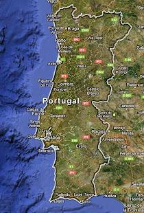 Previsão do Tempo para Portugal