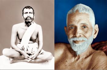 Ramakrishna / Ramana Maharshi