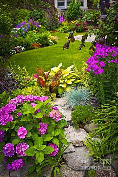 enchanting cottage garden