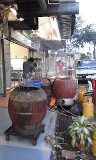 Tandoori ovens in Malacca Malaysia