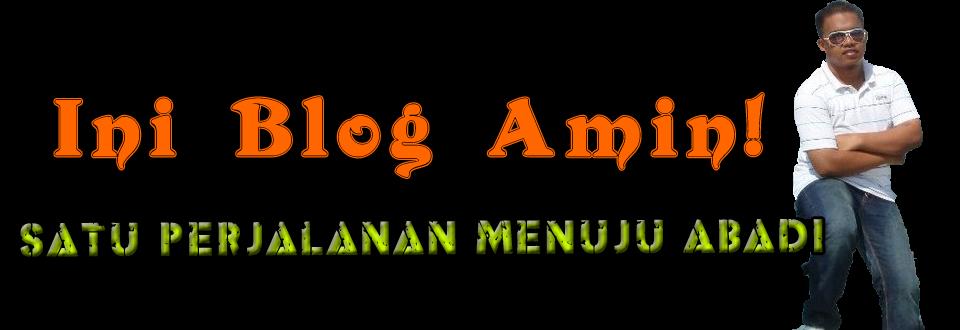 Ini Blog Amin !