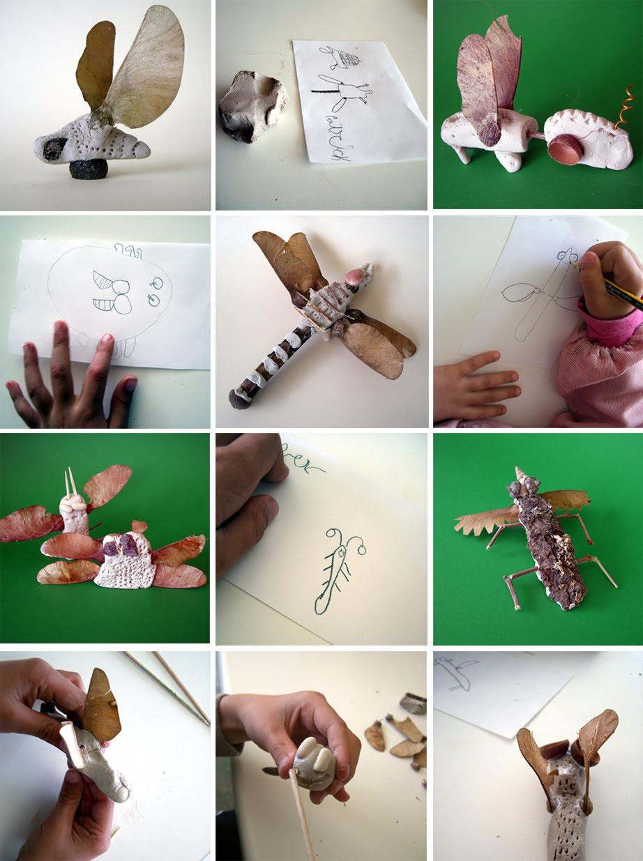 Como Hacer Insectos Con Material Reciclable