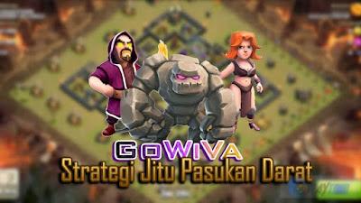 Cara Menggunakan Strategi GoWiVa di Clash of Clans