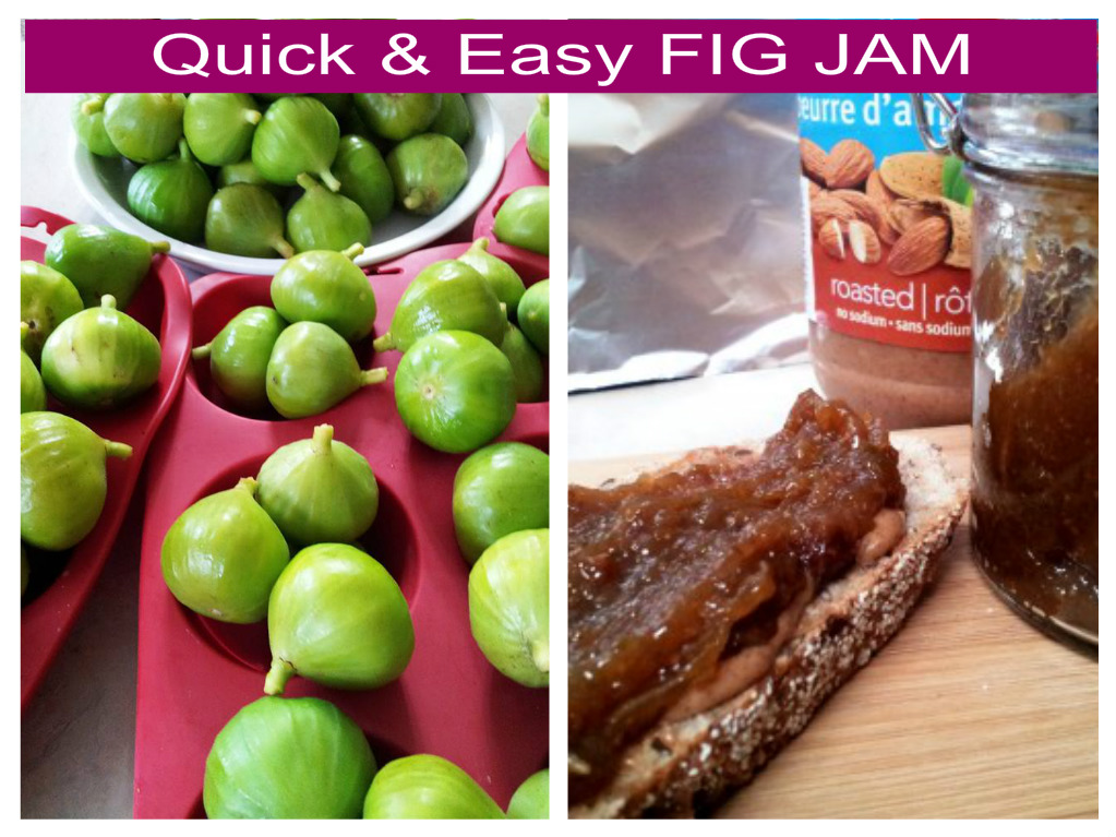 Quick & Easy FIG JAM Recipe
