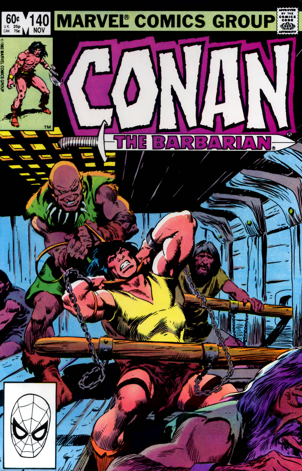 Conan the Barbarian (1970) Issue #140 #152 - English 1