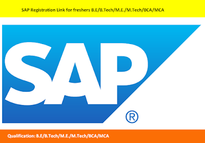 SAP Registration Link for freshers