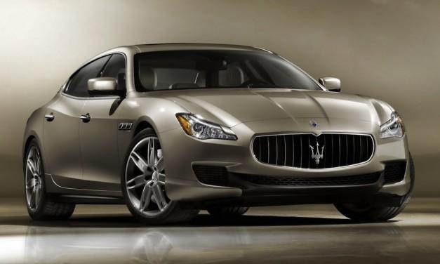 Novo Sedan Maserati Quattroporte Batalhax