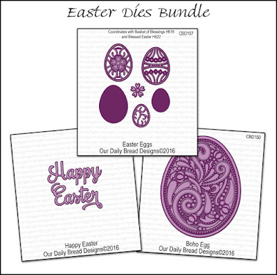 Our Daily Bread Designs Easter Dies Bundle