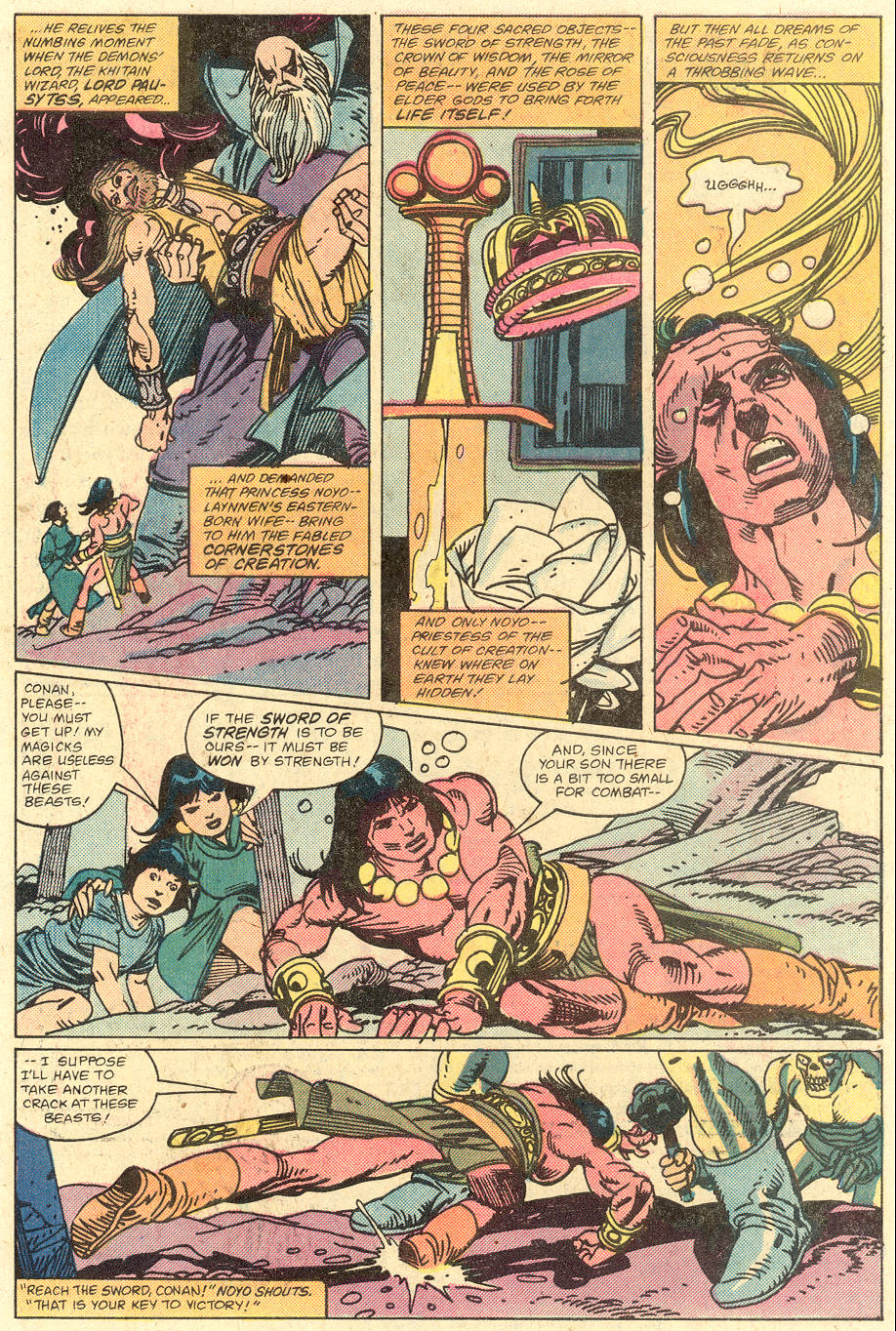 Conan the Barbarian (1970) Issue #129 #141 - English 5