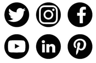 Volg mij via de sociale media