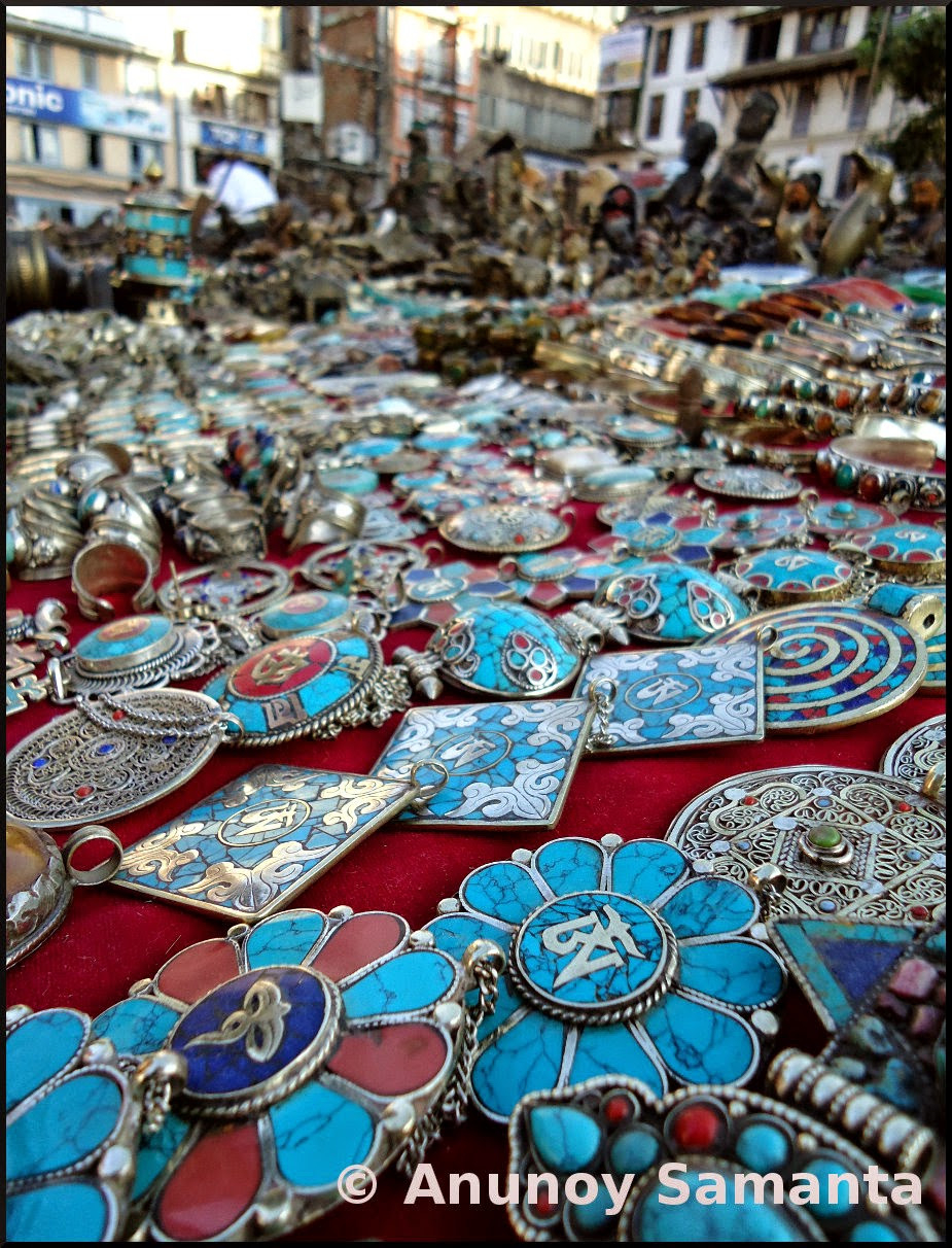 Trinkets for Sale in Durbar Square