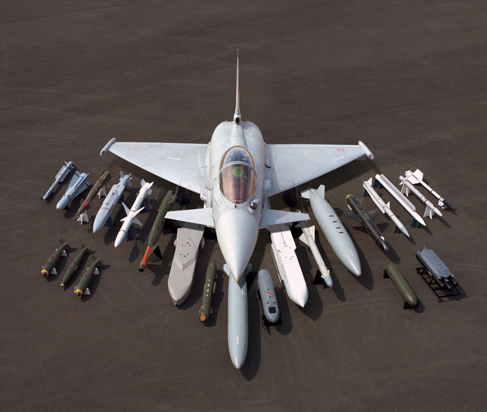 Aereo Da Caccia Efa : Esercitazione dact in volo anche efa italiani