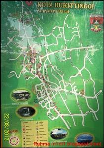 Peta Kota Bukittinggi