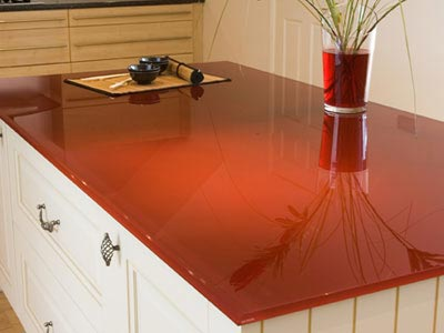 Countertop Paint Red : The Innumerable Methods Of Painting Kitchen Countertops To Choose From ...