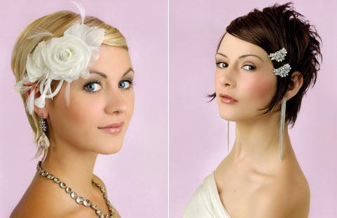 1 Весільні зачіски на коротке волосся