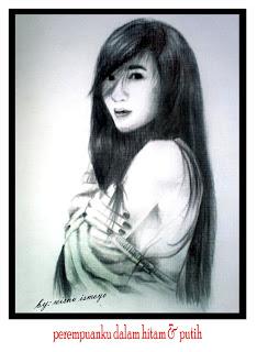 Beberapa contoh lukisan potret wajah karya wisnu ismoyo