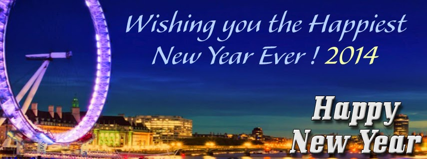 New Year 2014 Facebook Cover Photo